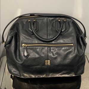 Givenchy Black Satchel Leather Bag